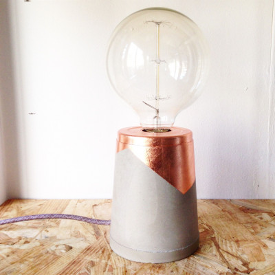 Guilded Lamp   Copper