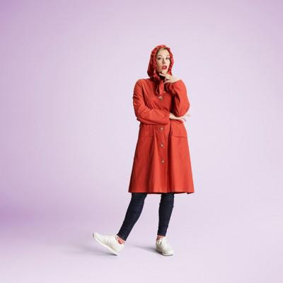 Raincoat | Orange