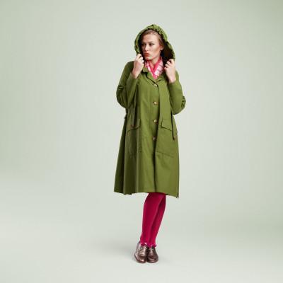 Raincoat | The Classic Green