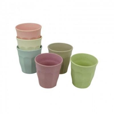 Tassen Tasse voller Farbe M 6er-Set | Morgendämmerung