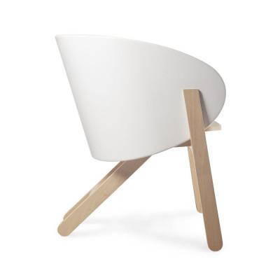 Stuhl Curva | Weiß