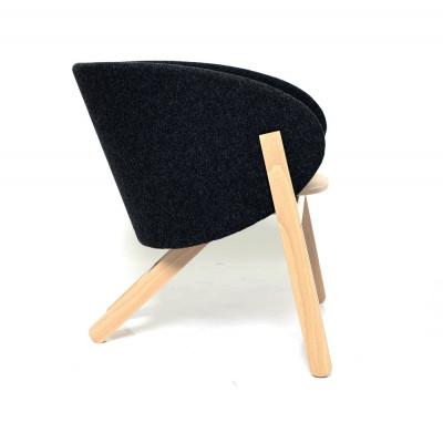 Stuhl Curva | Schwarz