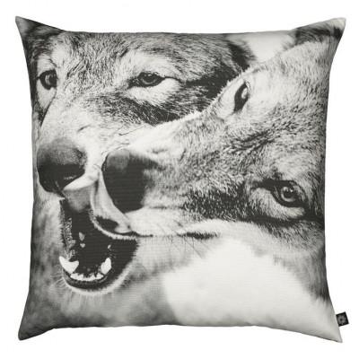 Spielende Wölfe Kissen