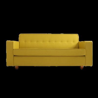 2-Sitzer-Sofa-Bett Zugo | Kurkuma