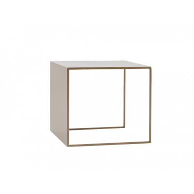 Couchtisch 2WALL 50 x 50 cm | Gold