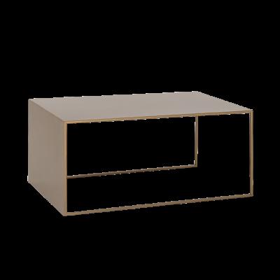 Couchtisch 2WALL 100 x 60 cm | Gold