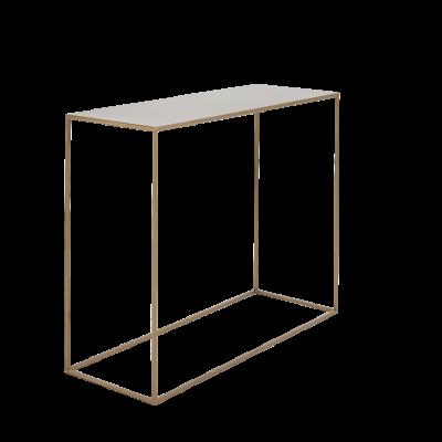 Konsole Tensio Metall 100 x 35 cm | Gold