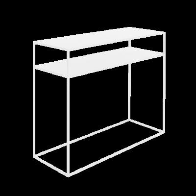 Console Tensio 2 Floor Metal | White