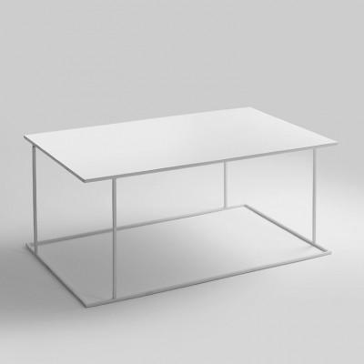 Couchtisch Walt 100 x 60 cm | Weiß