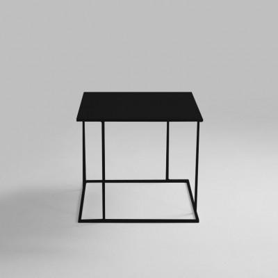 Couchtisch Walt 50 x 50 x 45 cm | Schwarz