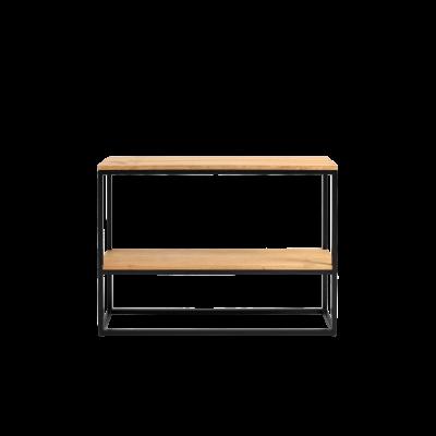 Rack Julita 75 cm 2 Shelves | Oak/Black