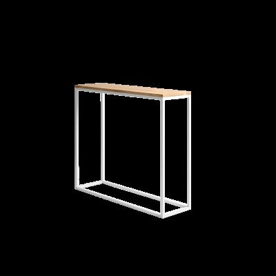 Regal Julita 92 cm | Eiche/Weiß