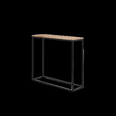 Regal Julita 92 cm | Eiche/Schwarz