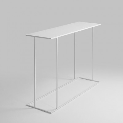 Couchtisch Walt 100 x 30 x 75 cm | Weiß