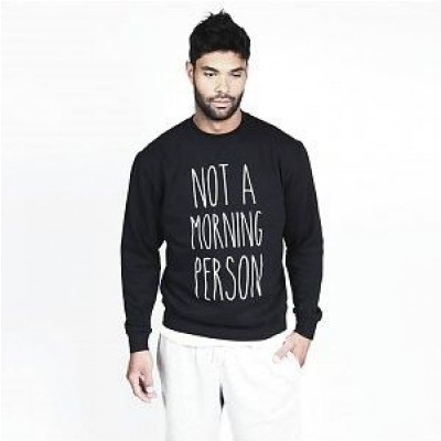 Not A Morning Person Men's Sweater