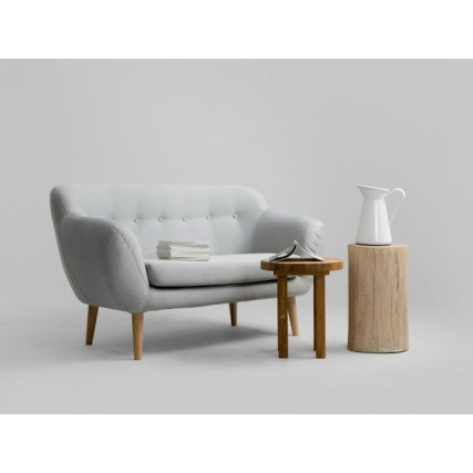 2-Sitzer-Sofa Marget   Platin-Grau