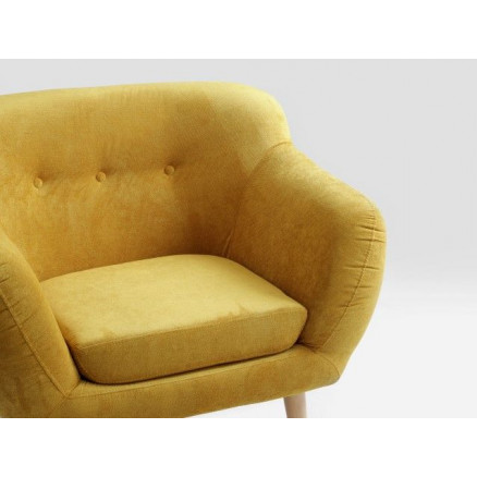 Armchair Marget | Yellow