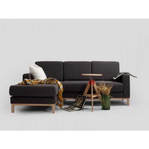 2 Seater Sofa Left Corner Scandic | Carbon Grey