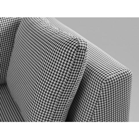 2 Seater Sofa Ambient   Dark Pepita