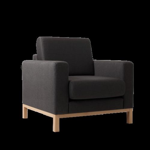 Armchair Scandic | Carbon