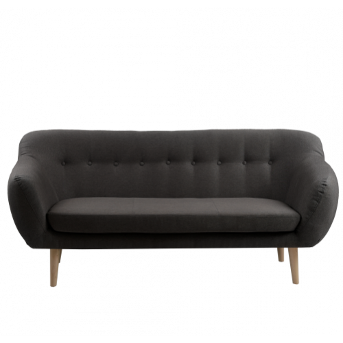 3 Seater Sofa Marget | Carbon Grey
