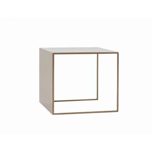 Coffee Table 2WALL 50 x 50 cm   Gold