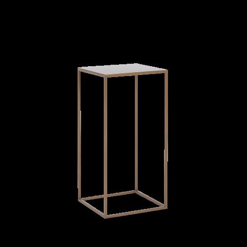 Coffee Table Tensio Metal 30 x 30 cm | Gold