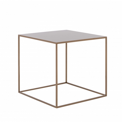 Coffee Table Tensio Metal 50 x 50 cm | Gold