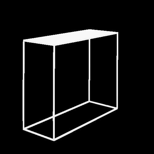 Console Tensio Metal 100 x 35 cm | White