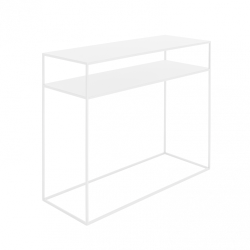 Console Tensio 2 Floor Metal   White