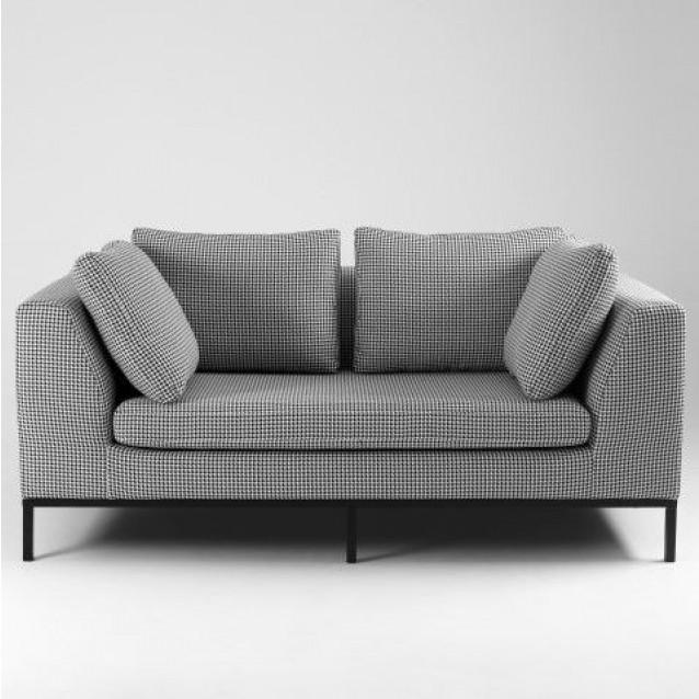 2-Sitzer-Sofa-Ambiente   Dark Pepita