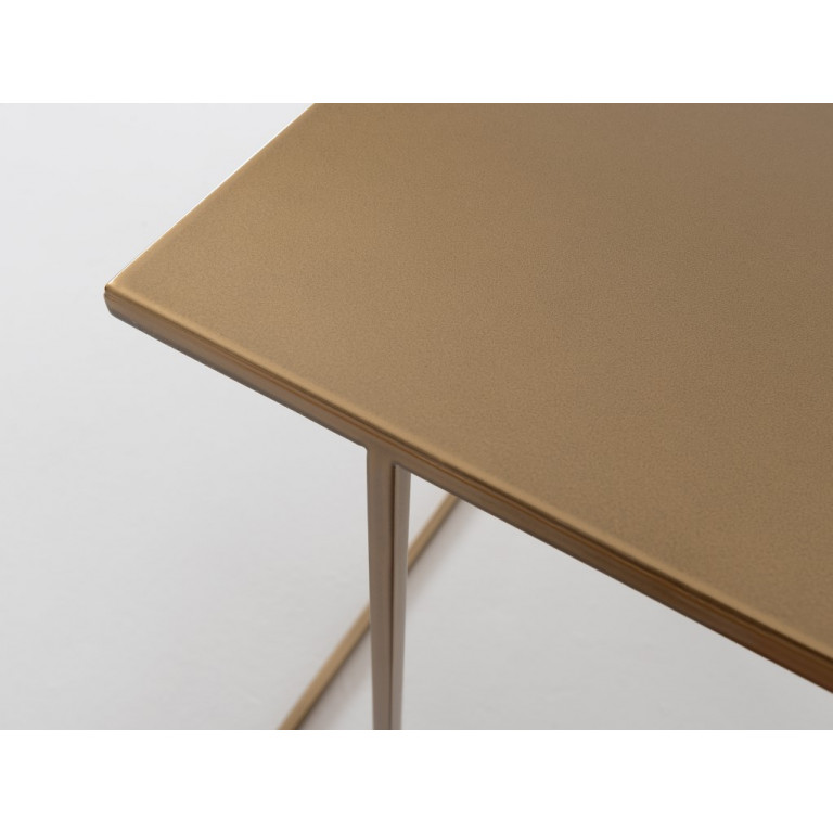 Coffee Table Walt 50 x 50 x 45 cm | Gold