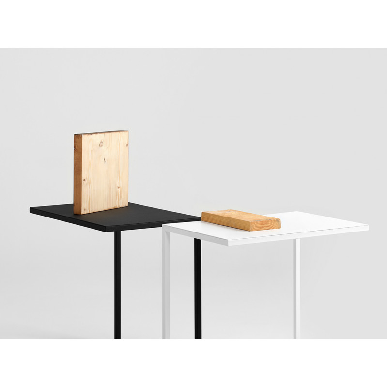 2nd Life | Side Table Lupe 60 cm | Black