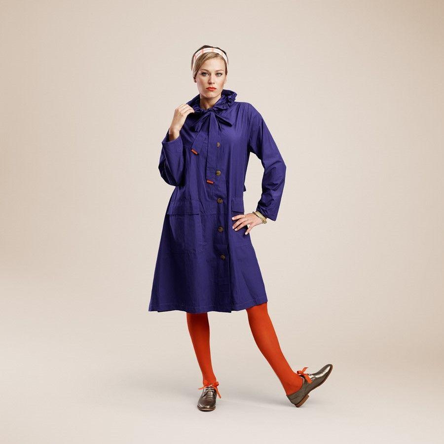 Raincoat | Blue Carbone