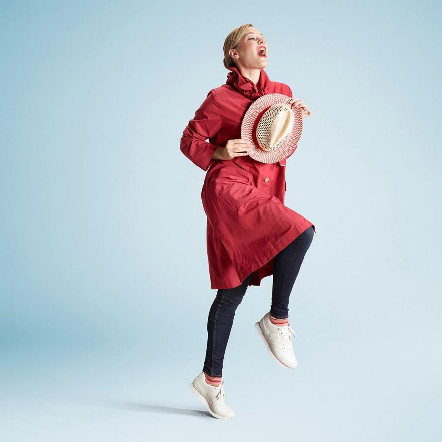 Raincoat | Red