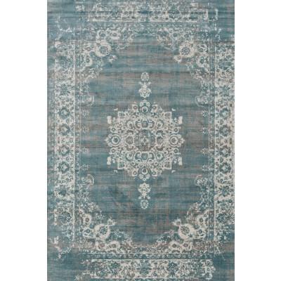 Teppich   Graublau