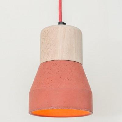 Cement Wood Lamp C