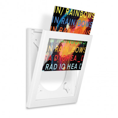 Art Vinyl Flip Frames | Weiß