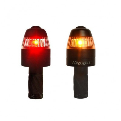 WingLights Turn Signal & Position Lights 360° Magnetic | Black