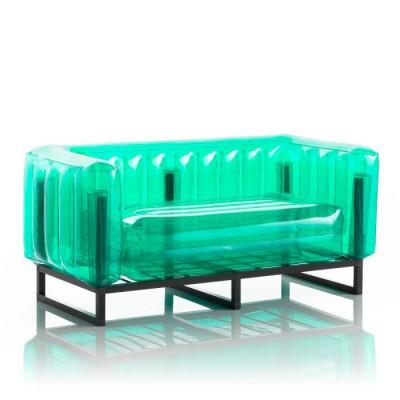 Canape Yomi Aluminium   Grün