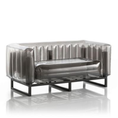 Canape Yomi Aluminium   Schwarz