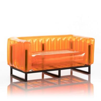 Canape Yomi Aluminium   Orange