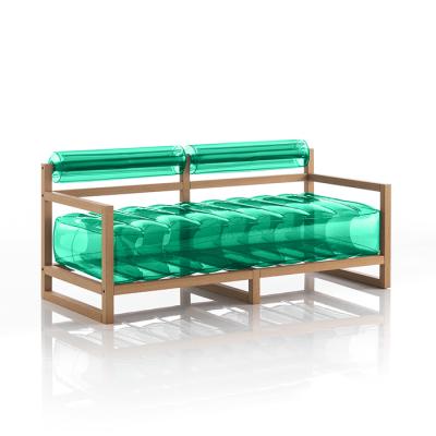 Canape Yoko Wood   Grün