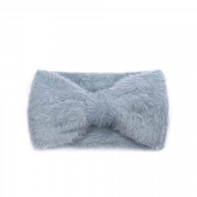 Haarband Schleife | Grau