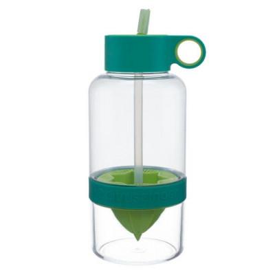 Trinkflasche mit Infusor Citrus Zinger Biggie 1L | Grün