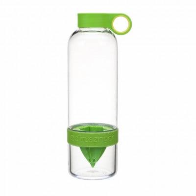 Trinkflasche mit Infusor CitrusZinger | Grün