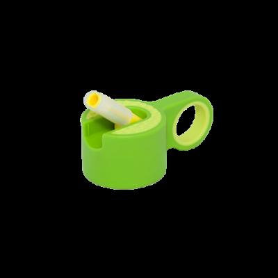 Trinkflaschenverschluss + Strohhalm | Grün