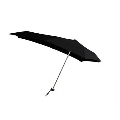 Senz Smart S Foldable Pocket Size Umbrella Black