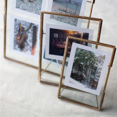 Danta Antique Brass Frame