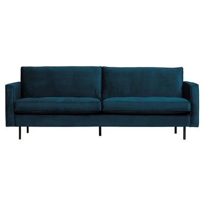 2,5 Seater Sofa Rodeo Classic Velvet | Blue